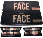 Profusion Cosmetics 8 Colour Face Eye Shadow Palette - Night (CosFaceZ)