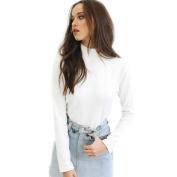 Turtleneck Tops Women,Hemlock Women Long Sleeve Shirt Casual Blouse Autumn Tops
