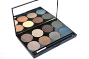 8 Shade Professional, Highly Pigmented Eyeshadow Make-up Palette by ShaBoom Beauty