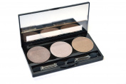 3 Shade Professional, Highly Pigmented Eyeshadow Make-up Palette by ShaBoom Beauty