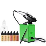 Temptu Perfect Canvas Airbrush Makeup Kit with 2.0 Green Compressor