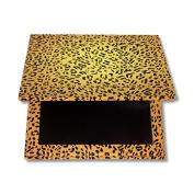 vmree Empty Magnetic Palette Makeup Palette Pad Leopard Large Pattern DIY Palette