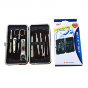 THD 1 Kit: Set Manicure Set Nail Knife Set Stainless Steel Personal Manicure Travel and Decorative Kit (TH-6137