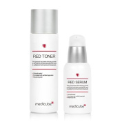 Medicube Red Line Toner(100ml) & Serum(50ml)SET / skin care set / Acne Prone Skin / Sensitive Skin / Whitening / Wrinkle Repair / skin care / health & beauty