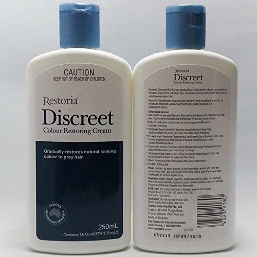 57d180c78441 Restoria Discreet Colour Restoring Cream 250mL product of Australia new pack