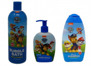Paw Patrol 2-in-1 Shampoo, Hand Soap, and Bubble Bath Bundle