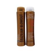 Bundle-2 items : Brazilian Blowout Anti-frizz Acai Shampoo & Conditioner, 350ml