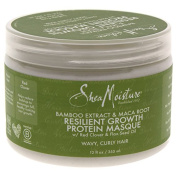 Shea Moisture Bamboo Extract & Maca Root Resilient Growth Protein Masque - 350ml