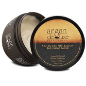 Hydrating Argan Oil Hair Mask and Deep Conditioner for Dry and Damaged Hair, 250ml