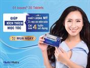 01 boxes *30 tablets - Hair grows more hair - THUỐC MỌC TÓC HEALTH PROTECT FOOD MULTI HAIRZ