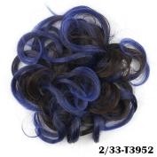 Hair Bun Updo Hairpiece Ponytail Hair Extensions Scrunchy Scrunchie Bun Wavy Curly Messy Hair Bun Extensions Donut Hair Chignons Hair Piece Wig