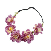 Dingji Handmade Flower Garland Halo For Wedding Flower wreath Decorations 8 Colours!