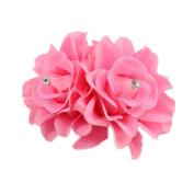 Ecurson Beautiful Flower Hair Pin Clip Pin Hairband Bridal Wedding Party For Women