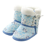 Kanzd Toddler Infant Newborn Baby Boots Shoes Soft Sole Boots Prewalker Warm Shoes
