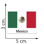 Mexico Flag Temporary Tattoos Sticker Body Tattoo