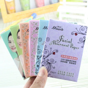 Mmrm 70Pcs/set Oil Absorbing Paper Oil Control Makeup Non-aborbent Water Blotting Sheets