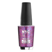 (6 Pack) NYC In A New York Colour Minute Sparkle Top Coat - Big City Dazzle