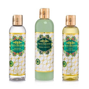 Nourishing Hair Treatment Set - Nourishes The Hair & The Roots - Reducing The Possibility Of Dandruff & Hair Loss - Provides Hair a Natural Glow, Restores Damaged Hair & Makes Your Hair Soft & Healthy