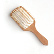 ZigZag Hair The Hair Laundry Massage Hair Comb Natural Wood Paddle Hair Brush-Detangling Scalp . To The Hair