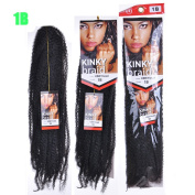 90cm Afro Kinky Curly Caterpillar African Big Braids Hair Extensions Braiding Hair Bulk Fluffy Heat Resistant Synthetic Hair Extension
