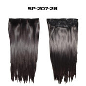 Wrap Around Synthetic Ponytail Clip in Hair Extensions One Piece Magic Paste Pony Tail Long Curly Wavy Soft Silky for Women Fashion and Beauty 46cm 50cm 60cm Inch