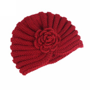 Lanhui_Elegant Women Ladies Boho Knitting Cancer Hat Beanie Scarf Turban Head Wrap Cap