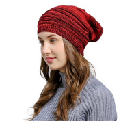 Lanhui_Men Women Baggy Warm Crochet Wool Knit Ski Beanie Skull Slouchy Caps Hat