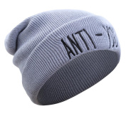 Lanhui_Slouchy Knitting Beanie Hip Hop Cap Warm Winter Ski Hat For Women Men