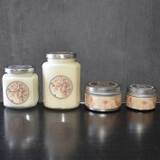 ANGELOHOME Baxter Manor Rose Candle Silver