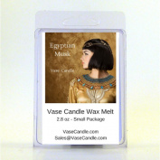 2 Egyptian Musk Vase Candle Melts | 80ml Premium Highly Scented Soy Paraffin Wax Tarts | 50 Hours