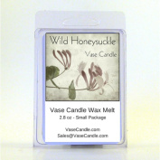 2 Wild Honeysuckle Vase Candle Melts | 80ml Premium Highly Scented Soy Paraffin Wax Tarts | 50 Hours