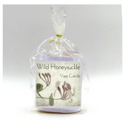 2 Wild Honeysuckle Vase Candle Refills | 100 Hour Burn Time | Premium Soy Paraffin Wax Blend | Highly Scented | Self-Trimming Wick