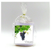2 Vineyard Vase Candle Refills | 100 Hour Burn Time | Premium Soy Paraffin Wax Blend | Highly Scented | Self-Trimming Wick