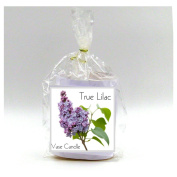 2 True Lilac Vase Candle Refills | 100 Hour Burn Time | Premium Soy Paraffin Wax Blend | Highly Scented | Self-Trimming Wick