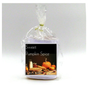 2 Sweet Pumpkin Spice Vase Candle Refills | 100 Hour Burn Time | Premium Soy Paraffin Wax Blend | Highly Scented | Self-Trimming Wick
