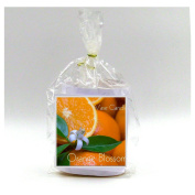 2 Orange Blossom Vase Candle Refills | 100 Hour Burn Time | Premium Soy Paraffin Wax Blend | Highly Scented | Self-Trimming Wick