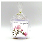 2 Magnolia Vase Candle Refills | 100 Hour Burn Time | Premium Soy Paraffin Wax Blend | Highly Scented | Self-Trimming Wick