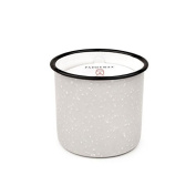 Paddywax Alpine Soy Wax Candle in Taupe Enamelware Pot, Wildflowers/Birch, 280ml