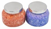 Capri Blue 560ml Pomegranate Citrus & Blue Jeans Watercolour Collection Jar Candle.
