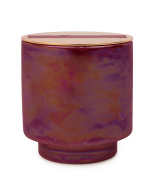 Paddywax Glow Collection Soy Wax Candle in Ceramic Pot, 150ml, Cranberry and Rose