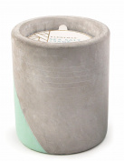 Paddywax Urban Collection Soy Wax Candle In Concrete Pot, Sea Salt & Sage
