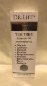 DR LIFT NATURE REMEDY TEA TREE ESSENTIAL OIL (cold sores, dandruff, psoriasis, sunburns etc.) 50ml