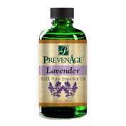 Aromatherapy Prevenage French Lavender Essential Oil - Premium Quality - Professional and Therapeutic Grade - 100% Pure and Natural - 120ml