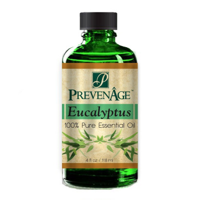 Aromatherapy Prevenage Eucalyptus Essential Oil - Premium Quality - Professional and Therapeutic Grade - 100% Pure and Natural - 120ml