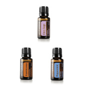doTERRA Essential Oil Value Set (3 in 1) - Clary Sage 15ml + Peppermint 15ml + Frankincense 15ml