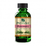 Aromatherapy Prevenage Rosemary Essential Oil - Premium Quality - Professional and Therapeutic Grade - 100% Pure and Natural - 30ml