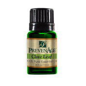 Aromatherapy Prevenage Clove Leaf Essential Oil - Premium Quality - Professional and Therapeutic Grade - 100% Pure and Natural - 10 mL
