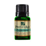 Aromatherapy Prevenage Peppermint Leaf Essential Oil - Premium Quality - Professional and Therapeutic Grade - 100% Pure and Natural - 10 mL