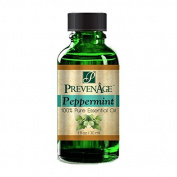 Aromatherapy Prevenage Peppermint Leaf Essential Oil - Premium Quality - Professional and Therapeutic Grade - 100% Pure and Natural - 30ml