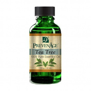 Aromatherapy Prevenage Tea Tree Essential Oil - Premium Quality - Professional and Therapeutic Grade - 100% Pure and Natural - 30ml